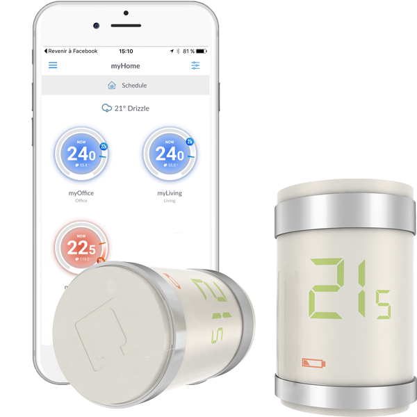 AI Smart Radiator Valve Bluetooth